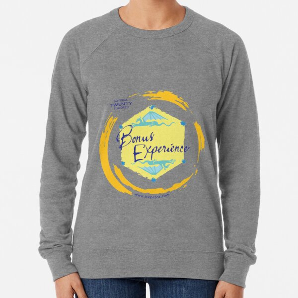 Sparkling Water BXP Logo - Lemon Lightweight Sweatshirt