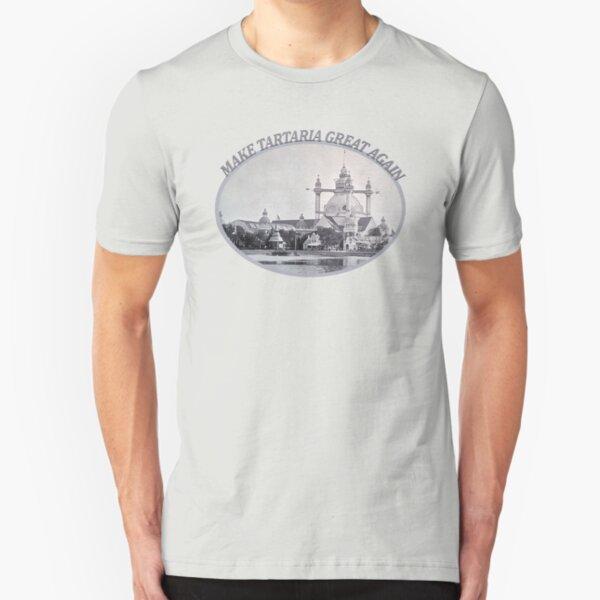 Make Tartaria Great Again Slim Fit T-Shirt
