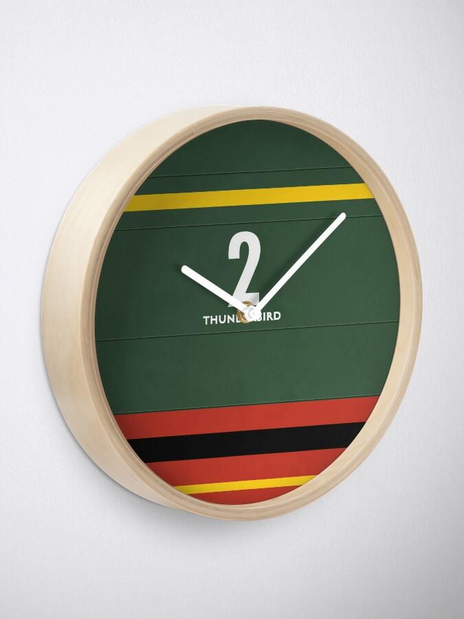 Alternate view of International Rescue Clock