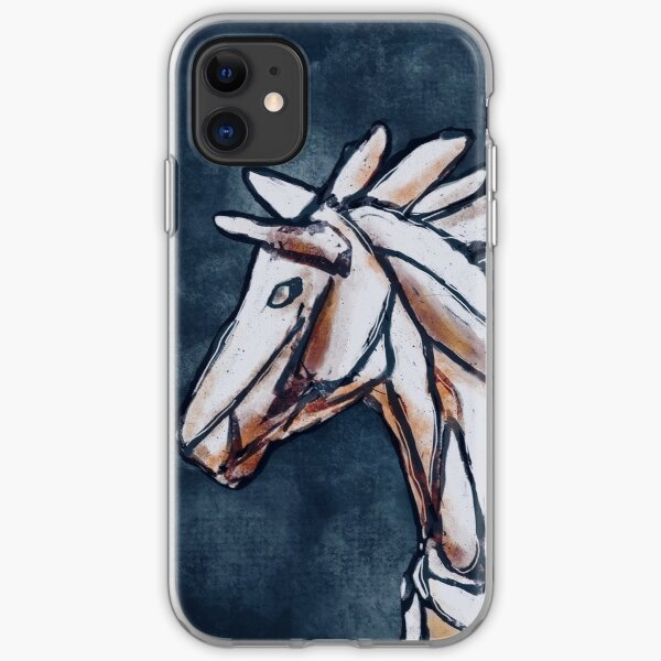 The Horse  iPhone Soft Case