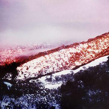 Dusk, Mt Buffalo by rozmcq