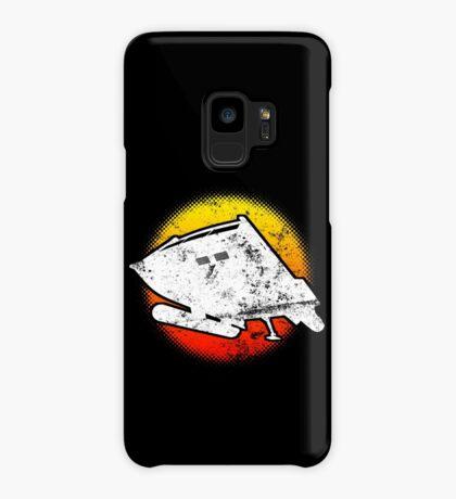 Type F Class Space Craft Star Shuttle Fleet Dark Case/Skin for Samsung Galaxy