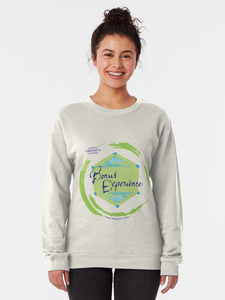 Alternate view of Sparkling Water BXP Logo - Lime Pullover Sweatshirt