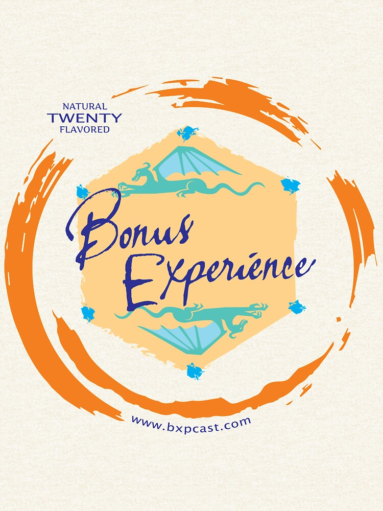 Sparkling Water BXP Logo - Orange by BonusExperience