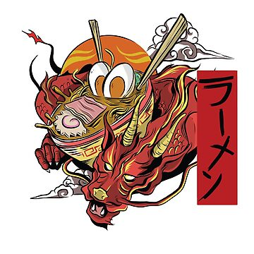 Ramen Monster T-Shirt by kihei-design