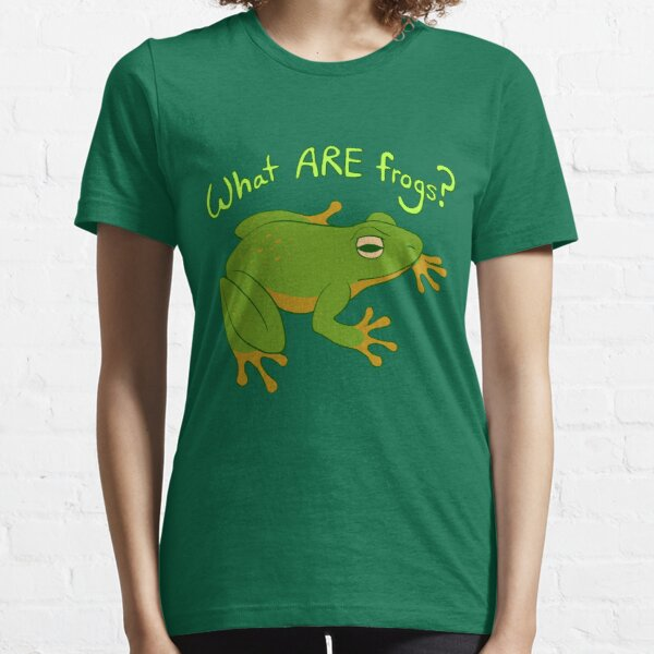 What ARE Frogs? (Basic edition) Essential T-Shirt