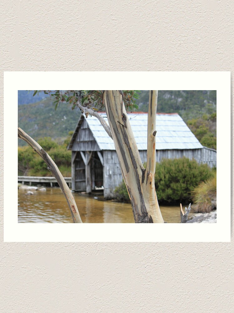 Alternate view of Wooden Boat Shed Art Print