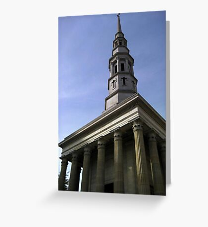 A Christian Church  Greeting Card