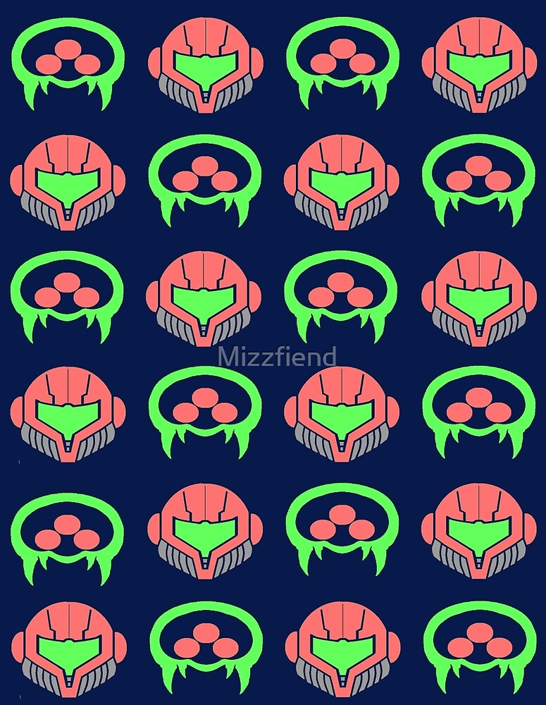 Metroid Pattern by Mizzfiend