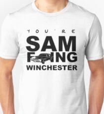 Sam F---ing Winchester 1 T-Shirt