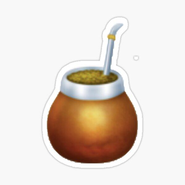 Bebida de mate Pegatina