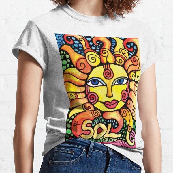 El Sol - The Sun Loteria Design Classic T-Shirt