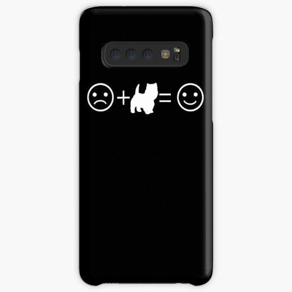 Westie Lover Happiness Equation Gift Samsung Galaxy Snap Case
