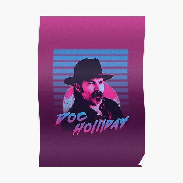 Retro Doc Holliday Poster