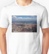 Flying Over Lisbon, Portugal T-Shirt