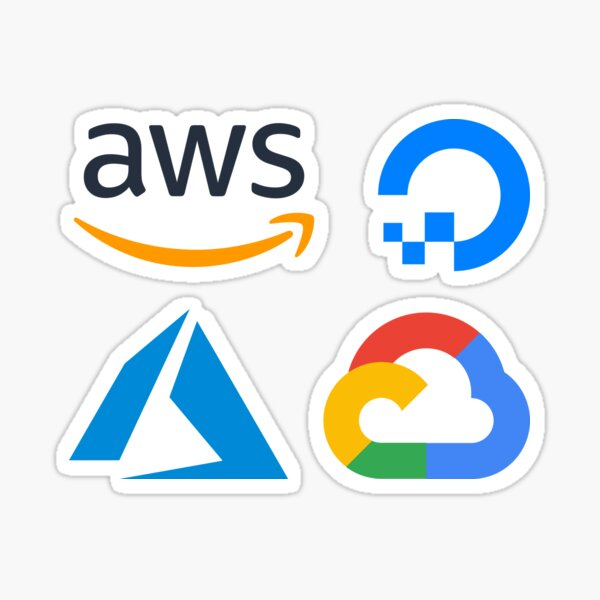 Cloud Providers Combo Pack Sticker