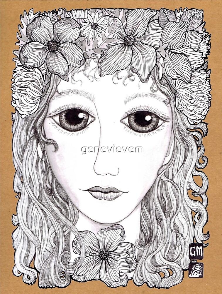 Flower crown by genevievem