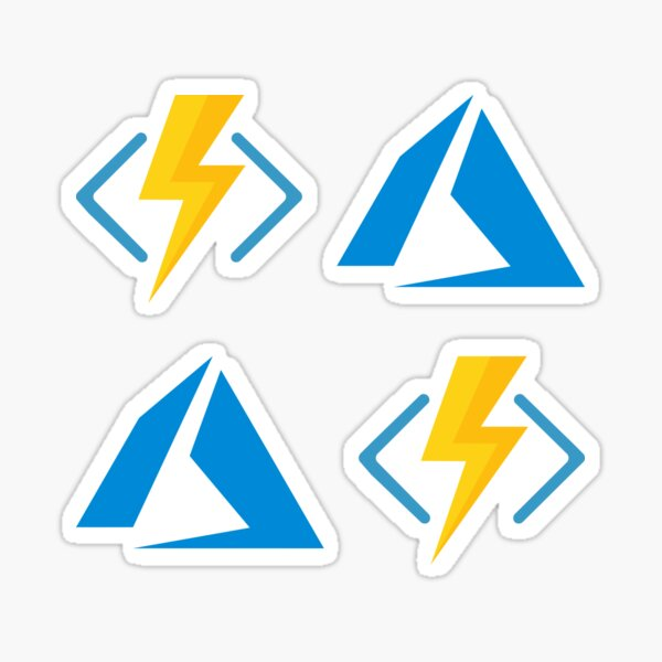 Azure Serverless Combo Pack Sticker