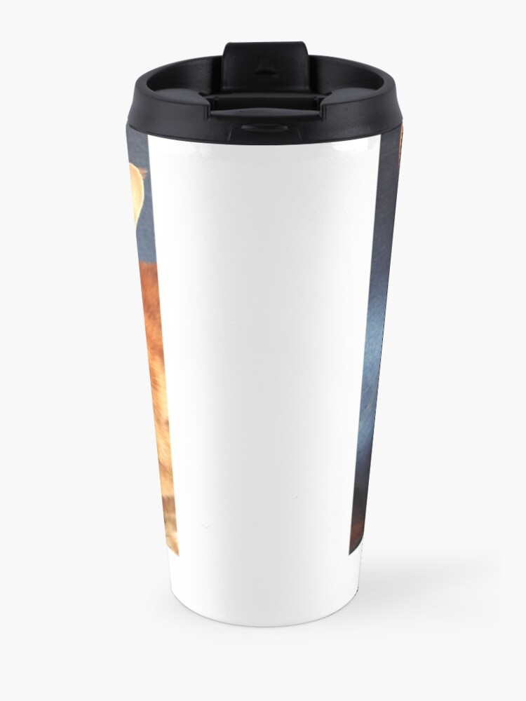 Alternate view of Oriental Cat Travel Mug
