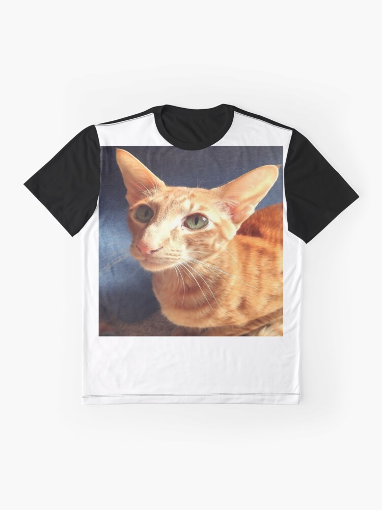 Alternate view of Oriental Cat Graphic T-Shirt
