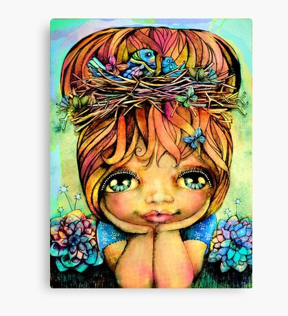 Taisie Blue Canvas Print