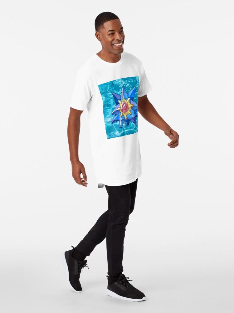 Vista alternativa de Camiseta larga Zafiro Starmie