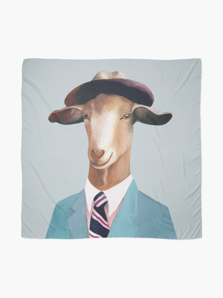 Alternate view of Goat Scarf