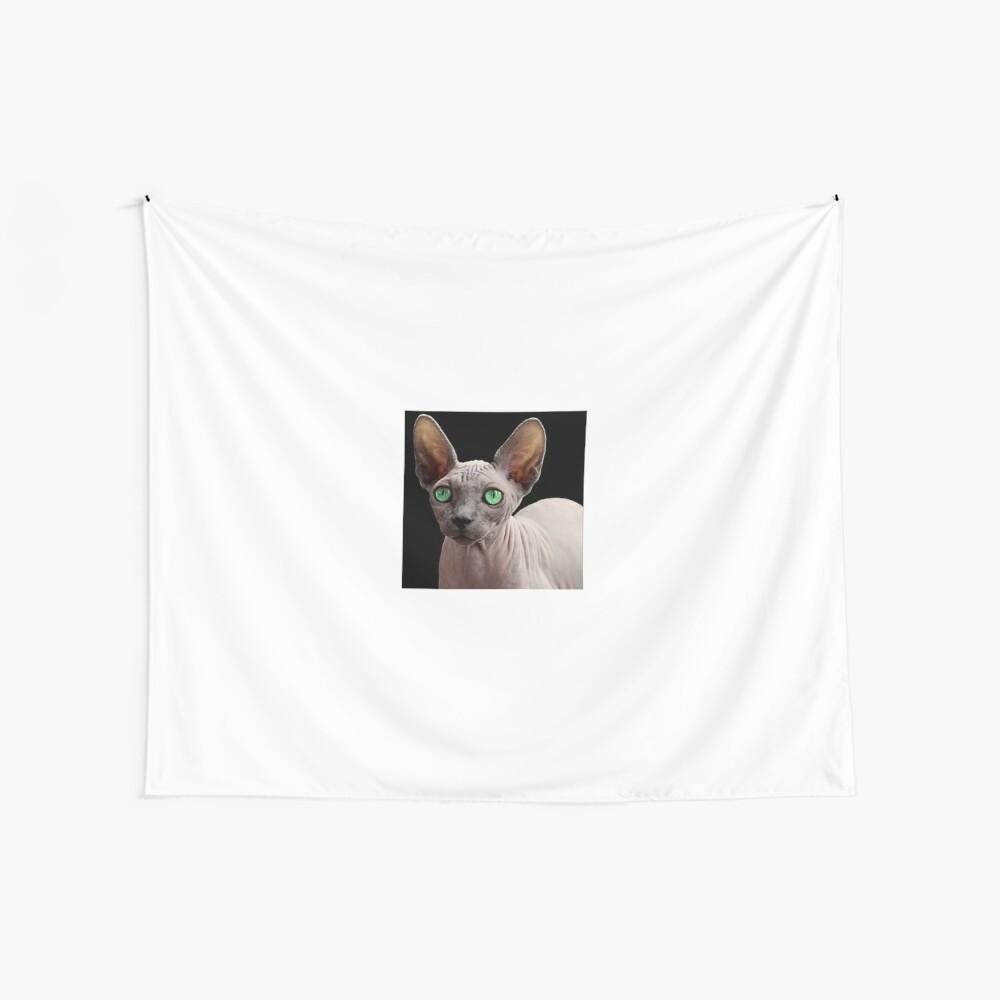 Sphynx Cat Wall Tapestry