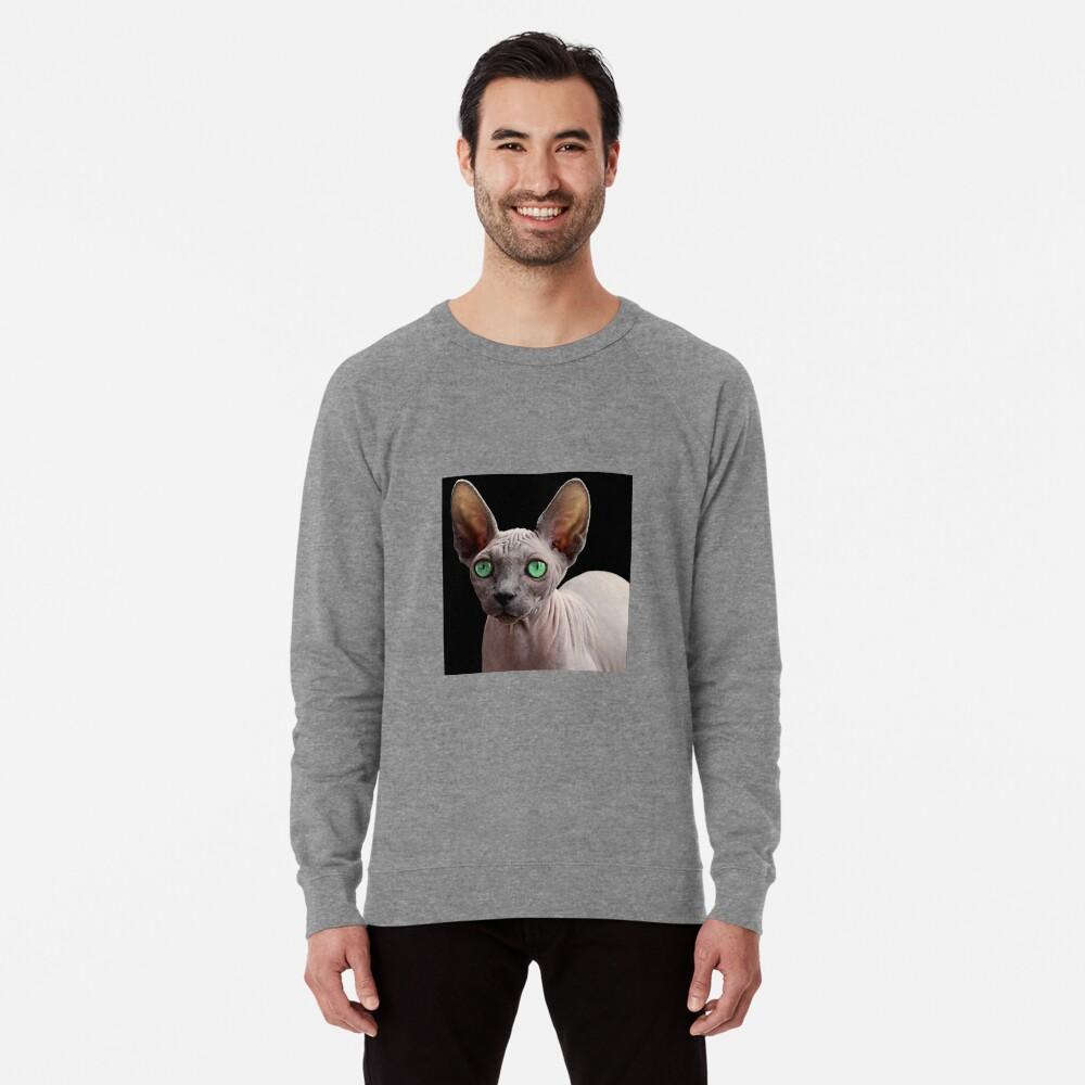 Sphynx Cat Lightweight Sweatshirt