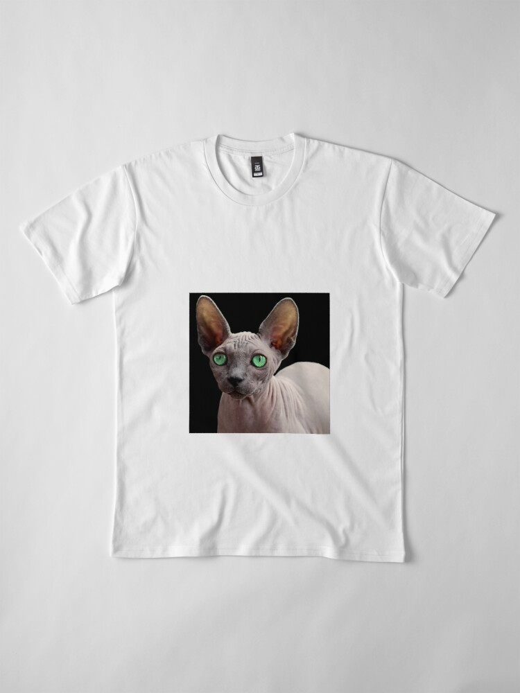 Alternate view of Sphynx Cat Premium T-Shirt
