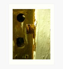 Door Latch Art Print