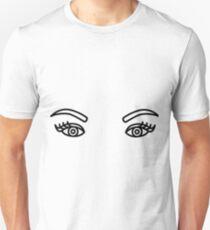 Eyelashes Slim Fit T-Shirt