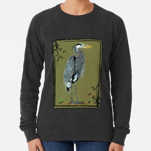Blue Heron Lightweight Sweatshirt