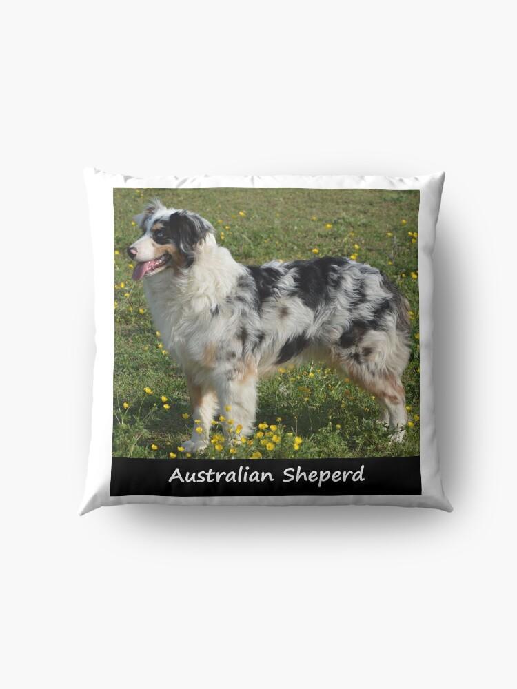 Alternate view of Australian Sheperd Floor Pillow