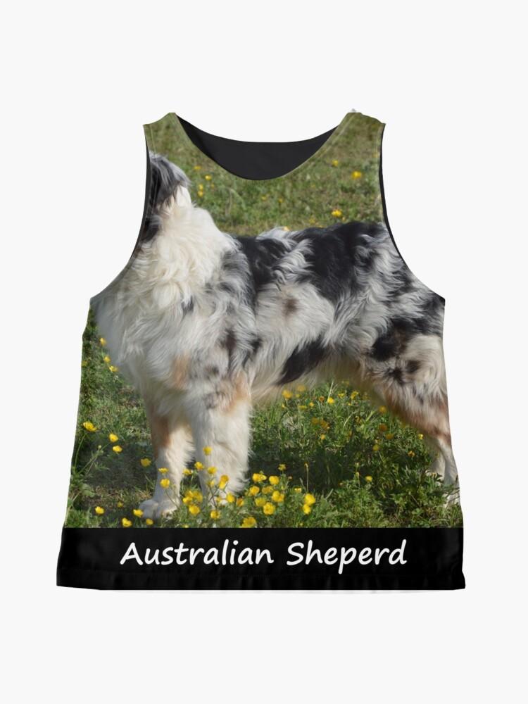Alternate view of Australian Sheperd Sleeveless Top