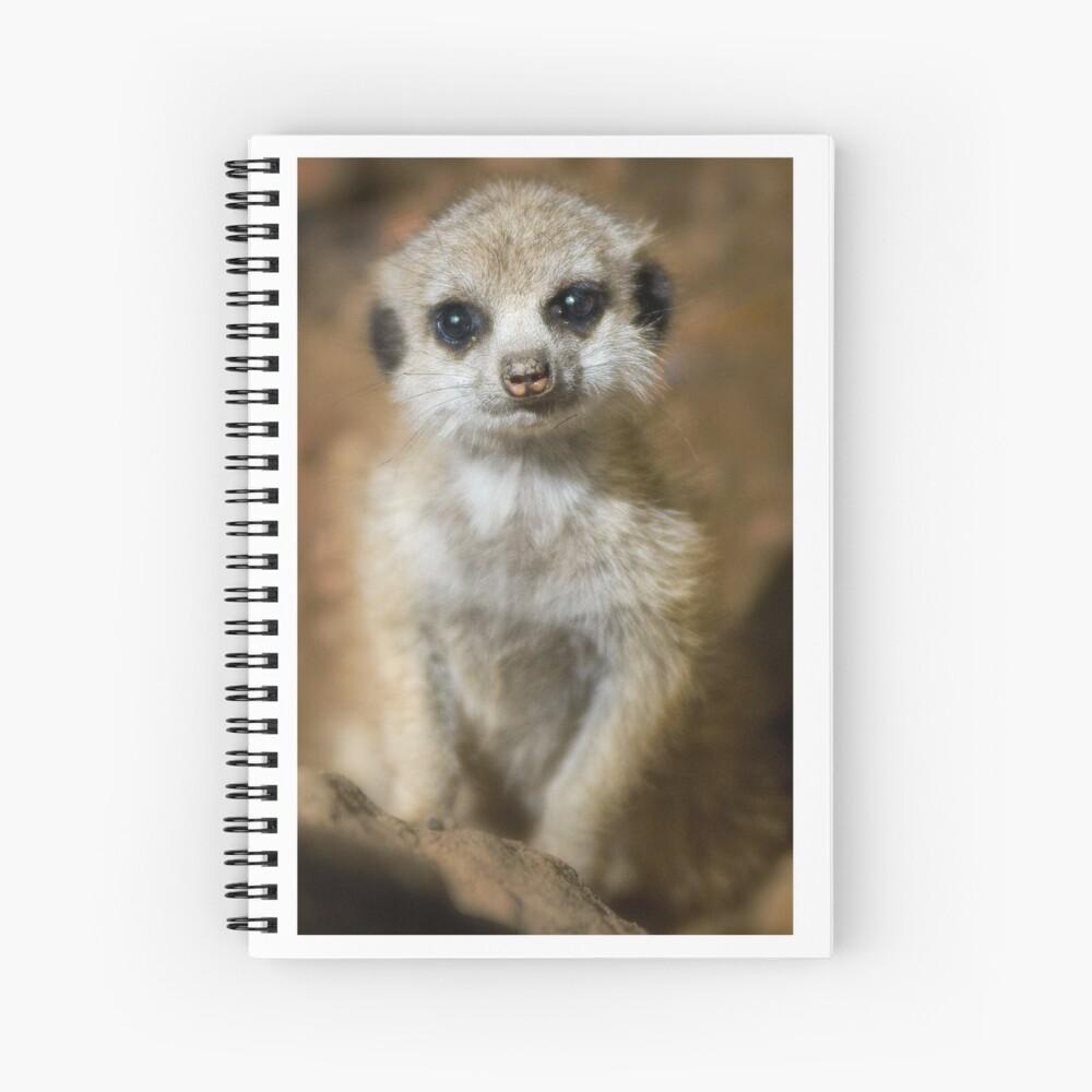 Meerkat Spiral Notebook