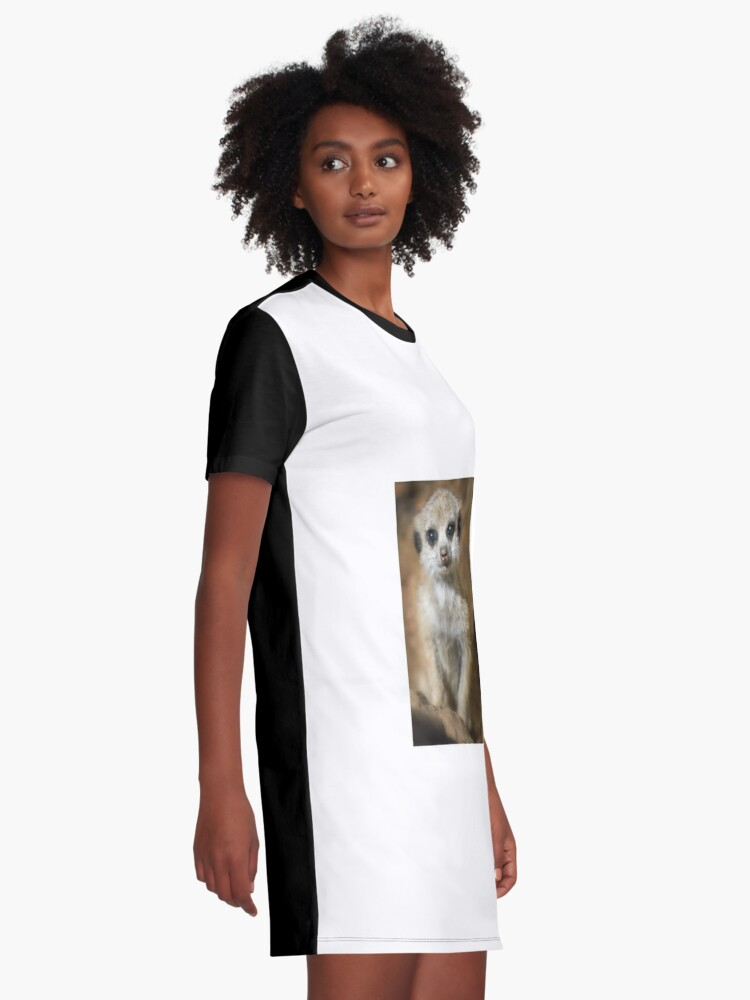 Alternate view of Meerkat Graphic T-Shirt Dress