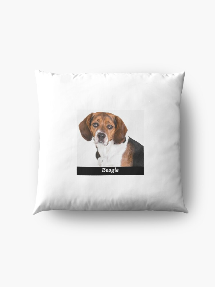 Alternate view of Beagle Floor Pillow