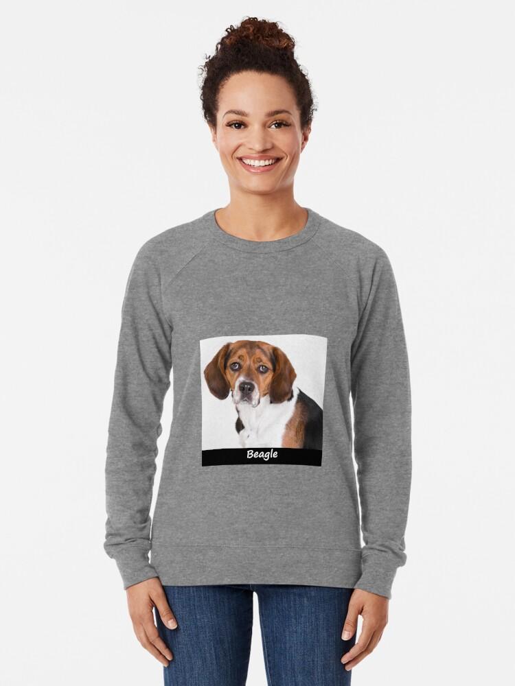 Alternate view of Beagle Lightweight Sweatshirt