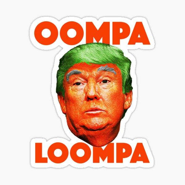 Oompa Loompa Sticker
