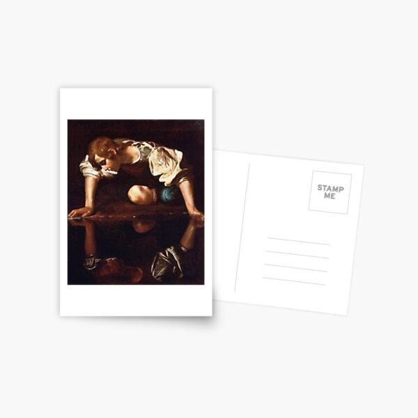 Narcissus by Caravaggio (1599) Postcard
