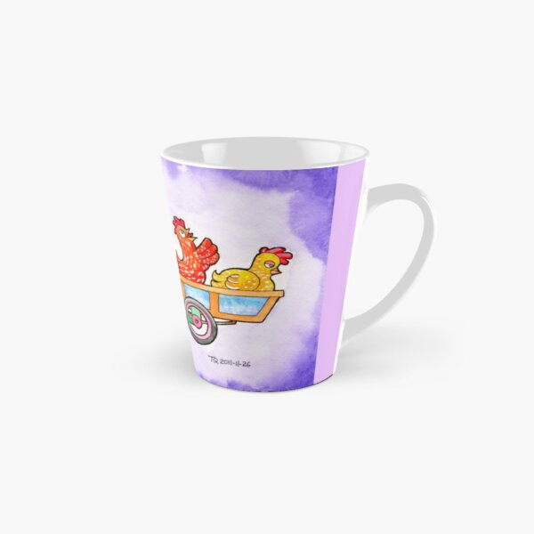 The Fox and Hens Tall Mug
