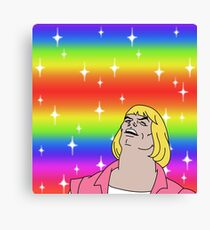 He-Man Gay Pride Canvas Print