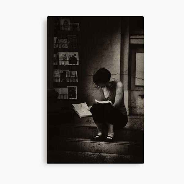 The Reader Canvas Print