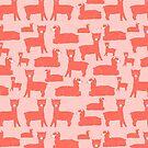 Hello coral llamas! by illuminostudio