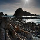 Sugarloaf Rock, Cape Naturaliste, W.A. by thorpey