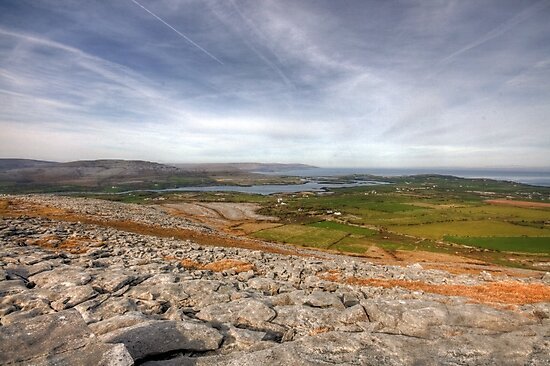 Corker Hill View in  The Burren by John Quinn
