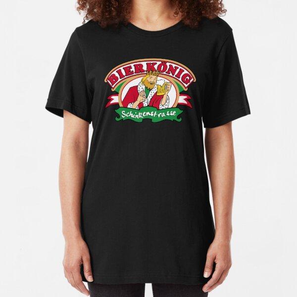 bierkönig Slim Fit T-Shirt