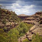 dales gorge - karijini, western australia by col hellmuth