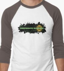 Corporate Warfare $ Men's Baseball ¾ T-Shirt